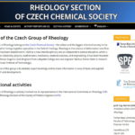 New web of the WG Rheology