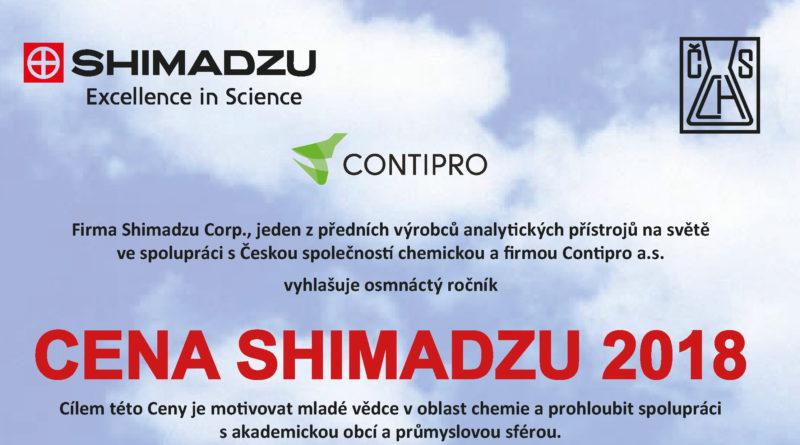 Cena SHIMADZU 2018