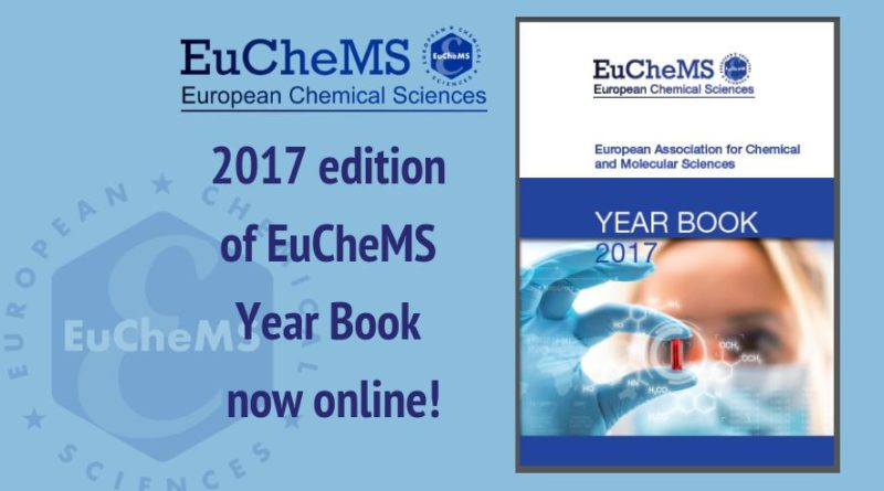 EuCheMS 2017 Year Book now online